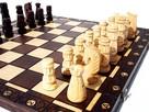 ORYGINALNE drewniane szachy ZAMKOWE 54x54 cm ! - 2