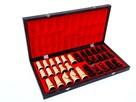 ORYGINALNE drewniane szachy ZAMKOWE 54x54 cm ! - 4