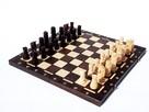 ORYGINALNE drewniane szachy ZAMKOWE 54x54 cm ! - 1