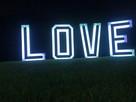 Napis LOVE RGB ! Ślub, Wesele, Rocznice, Imprezy Wynajem