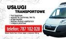Taxi bagażowe usługi transportowe przeprowadzki