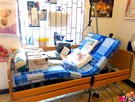 Łóżko rehabilitacyjne, elektryczne, ortopedyczne, na pilota - 1