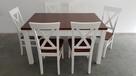 Krzesło krzesła białe prowansalskie skandynawskie nowe mocne - 2