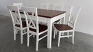 Krzesło krzesła białe prowansalskie skandynawskie nowe mocne