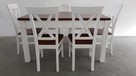 Krzesło krzesła białe prowansalskie skandynawskie nowe mocne - 3