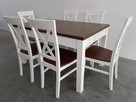 Krzesło krzesła białe prowansalskie skandynawskie nowe mocne - 4