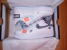 NIKE AIR FORCE 1 07 PRM JUST DO IT AR7719-100 roz. Eur 45,5 - 4