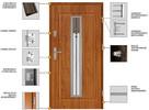 Drzwi zewnętrzne-wejściowe- metalowe POLSKIE z montażem. - 5