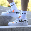 NIKE AIR FORCE 1 07 PRM JUST DO IT AR7719-100 roz. Eur 45,5 - 5
