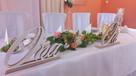 Dekoracja sal weselnych i kościołów