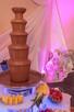 czekolada do fontann, fontanny czekoladowe, podstawy LED RGB