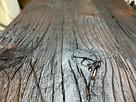Blaty ze starego drewna Stare deski Loft Stół Industrialny