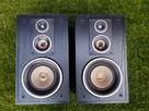 Kolumny głośnikowe drewniane czarne - 2