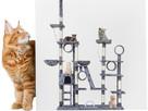 Drapak dla kota duży wielopoziomowy XXL aż 255 cm