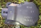 silniczek klap nadmuchu 30zł OPEL ASTRA G II 2 - 1