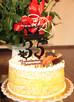 Topper na tort urodzinowy, dekoracja na ciasto. - 1