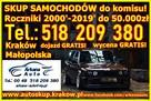 Skup Aut Kraków TEL. 518 209 380 AUTO SKUP SAMOCHODÓW - 4