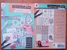 Kolorowanka antystresowa kreatywna pocztówki naklejki bilety