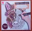 Zwierzęta Antystresowa kolorowanka kreatywna z brokatem - 8