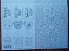 Kolorowanka antystresowa kreatywna pocztówki naklejki bilety - 7