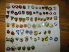 Sportowe odznaki matalowe (pins)- do odstapienia