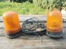 Lampy ostrzegawcze koguty - 1