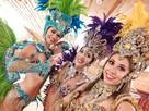 Pokazy tańca SAMBA SHOW, tancerki samby