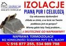 Naprawa izolacji poddaszy po kunie Wdmuchiwanie celulozy