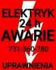 ELEKTRYK-AWARIE 24h/7-ŁÓDŹ-UPRAWNIENIA