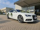 Auto do Ślubu !!! . Piękne białe AUDI S7 - 3
