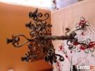 świecznik,świeczniki kute,metaloplastyka Lubomierz