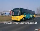 Bilet autobusowy na trasie Łódź - Londyn od 359 zł !