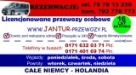 Jantur Przewóz osób Mysłakowice