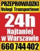 Tanie Przeprowadzki Transport Warszawa i Cały Kraj 24h/7dni - 1