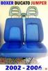 Fotel pasażera kanapa siedzenie 2 osobowe FIAT DUCATO 02-06 - 1
