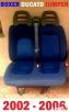 Fotel pasażera kanapa siedzenie 2 osobowe FIAT DUCATO 02-06 - 2
