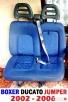 Fotel pasażera kanapa siedzenie 2 osobowe FIAT DUCATO 02-06 - 3