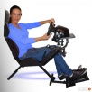 FOTEL DO GIER z regulacją adaptacyjną >stand pod kierownice - 2