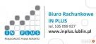 Biuro rachunkowe IN PLUS- Zapraszamy do współpracy - 1