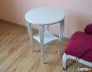 AKANT Meble, Okrągły stolik Aleks, kawowy, stół, glamour Wadowice