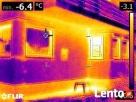 Badanie kamerą termowizyjną Rzeszów. Lokalizacja wycieku - 2