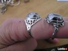 Srebrne stare pierścionki WARMET, LATA 60, 70 - 8