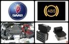 Naprawa ABS SAAB tel. 692274666 TC brak prędkościomierza
