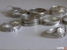 Srebrny sygnet, pierścionki /obraczki warmet Pierścionki - 2