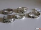 Srebrny sygnet, pierścionki /obraczki warmet Pierścionki - 4