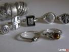 Srebrny sygnet, pierścionki /obraczki warmet Pierścionki - 6