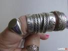 Srebrny sygnet, pierścionki /obraczki warmet Pierścionki Krynica-Zdrój