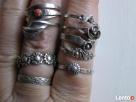 Srebrny sygnet, pierścionki /obraczki warmet Pierścionki - 7