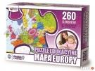 PUZZLE EDUKACYJNE Mapa Europy - NOWOŚĆ polski produkt - 1