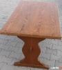 Stół dąb, rozkładany max 170x70, używany - 3